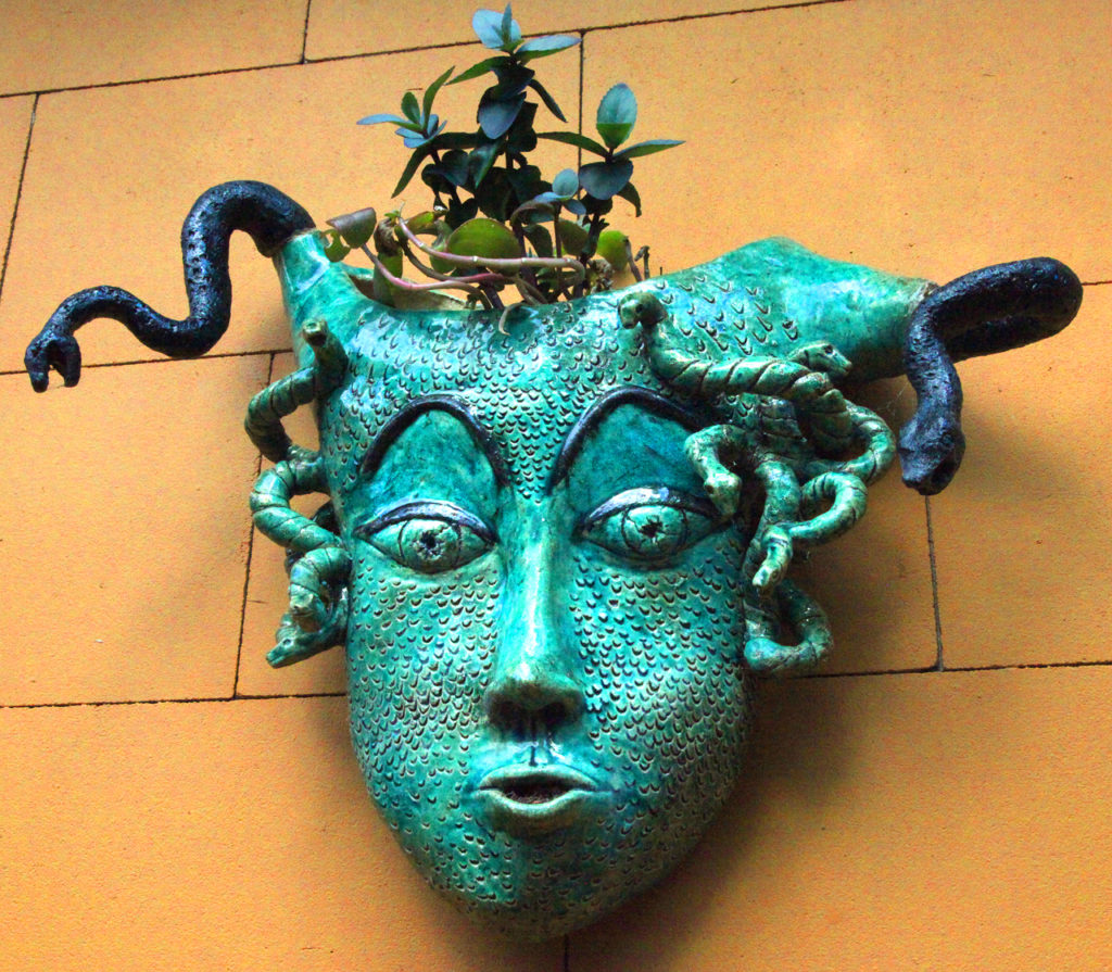 Medusa Wall Planter